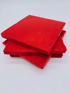 Wax (red) 1kg for use in cheese production
