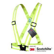 Salzmann 3M Scotchlite Reflective Cross Belt (Running, Walking, Cycling, Strap)