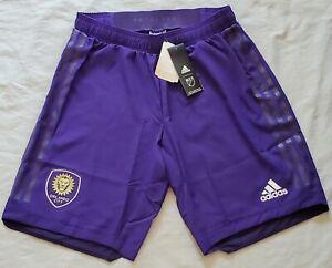 Orlando City SC adidas Finished Fan Wear climalite Shorts - Purple Size S