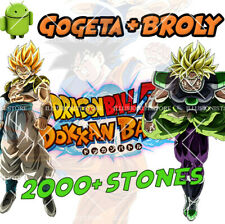 🌟 Android - Dokkan Battle - Gogeta AGL + Broly PHY 2000+ Dragon Stones - GLOB
