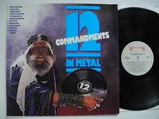 12 Commandments In Metal LP 1985 EX SATAN/VENOM/SLAYER/OMEN/BITCHES SIN/ANTHRAX
