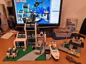 Lego vintage police 6598 Metro PD Station 100% complet