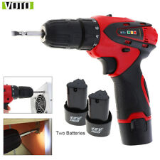 Electric Double Speed Drill 12V Rechargeable Two-speed Electric Screwdriver Tool