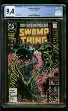 SWAMP THING #53 (1986) CGC 9.4 BATMAN APPEARANCE
