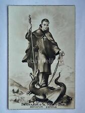 SANCTUS BERNARDUS A MENTONE Alpi Aosta old postcard vecchia cartolina