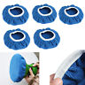 "5PCS Royal Blue 5-6"" Microfiber Car Polishing Wax Polisher Bonnet Buffing Pads"