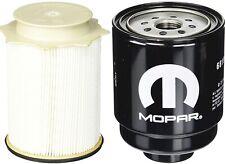 2010-2018 RAM® 6.7L Cummins Turbo Diesel Fuel Filter Pair. OEM Mopar