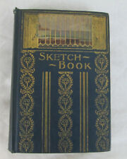 Rare Edition Sketch Book Washington Irving Ornate Antique Embossed HC Donohue