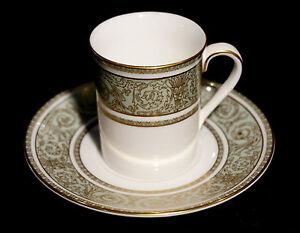 Beautiful Royal Doulton English Renaissance Demitasse And Saucer