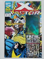 X-FACTOR #92 (1993) FATAL ATTRACTIONS HOLOGRAM COVER! 1ST APPEARANCE EXODUS! NM