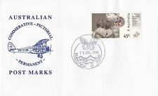 Permanent Commerative Pictorial Postmark - Manunda 11 Jul 1996 - 45c