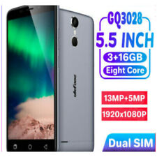 Ulefone GQ3228 Smartphone Android 3GB+16GB 5.5 Inch Rugged 4G HD Camera Dual SIM