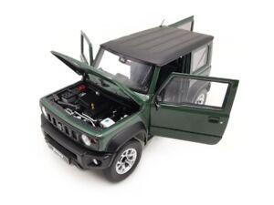 Suzuki Jimny Sierra Dark Green 2018 1:64 Modell LCD64004J-DG LCD Models