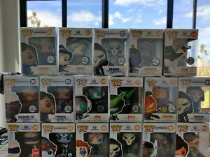 Pop Vinyl Funko Overwatch Collection Rare vaulted pops Blizzard Exclusives+ more