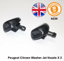 Peugeot 206+ Front Window Windscreen Washer Jets Jet Nozzle Spray New X 2 6438E6