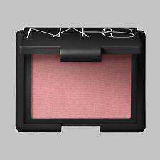 Nars Deep Throat Powder Blush Compact Full Size Peach Pink Shimmer  .16 oz/4.8g