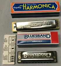 2 Harmonicas 1- Schylling and 1- Bluesband