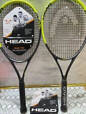 2 New Head Tour Pro Tennis Rackets 4-3/8 Grip  Comfort Power Spin Fast Shipping