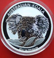 """Australien 1 Dollar 1 Unze """"Koala"""" 2014-P MG Silber #F2143 Perth Mint ST-BU"""