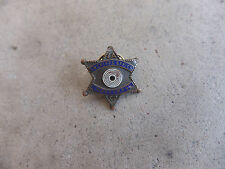 obsolete Los Angeles California CA County Marksman mini pin star Police badge