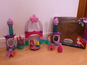Mega Bloks Disney The Little Mermaid Ariel Underwater Castle Light Up Age 1 Year