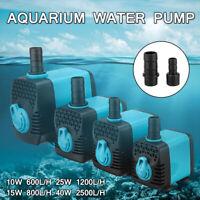 Aqua Water Pump Feature Tank Fountain Garden Fish Pond Aquarium Submersible Pump