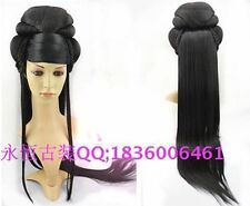 Imperial Concubine Schwarz Modeling Perücke Princess Lang Cosplay Wig Haar