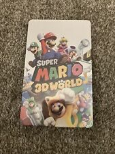 STEELBOOK :Nintendo SUPER MARIO 3D WORLD BOWSER'S FURY SWITCH Neuf pas de jeu!!!