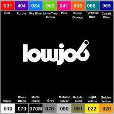 LOWJOB Vinyl Decal Sticker Window Illest slammed jdm scrape fresh lowered