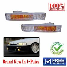 JDM Bumper Indicator Park Turn Signal Light lamp 1990 1991 Honda Civic SH4 EF2