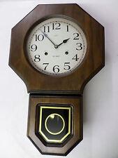 Regulator Wall Clock- Russian- Daekor. 31 day chime, with key