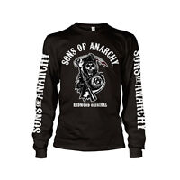 Officially Licensed Sons Of Anarchy Redwood Original Long Sleeve T-Shirt S-XXL