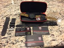 Luminox Navy Seal Colormark Chrono 3080 Black Mens Watch - 3081.BO w Extras!