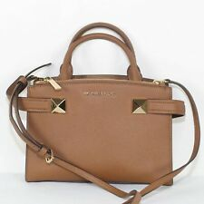 MICHAEL MICHAEL KORS Ladies Brown Saffiano Leather Small Shoulder Bag