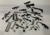 GI JOE, etc Lot of Parts, Accessories, Weapons, Various Years