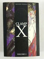 Manga Clamp  X  VF  Tome 2  Envoi rapide et suivi