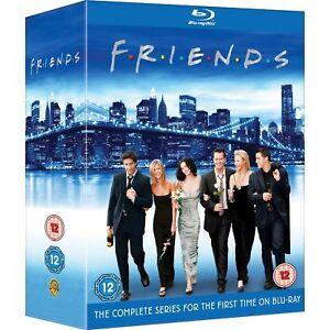 Friends - The Complete Series Seasons 1 2 3 4 5 6 7 8 9 10 [Blu-ray Box Set] NEW