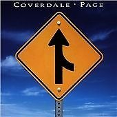 Jimmy Page -  IAN Coverdale.  COVERDALE & PAGE (1993)  CD ALBUM