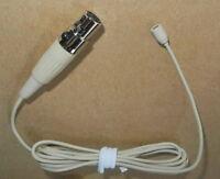 Beige skin color Lapel Lavalier Clip Microphone Mic For Shure Wireless