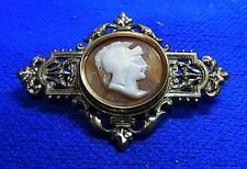 Antique German Brooch Cameo1890 #CA