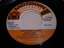Ace Cannon: That's My Desire / Danny Boy 45