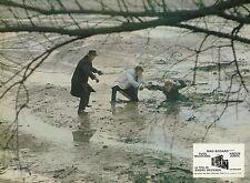 ANOUK AIMEE  YVES MONTAND  UN SOIR... UN TRAIN 1968 VINTAGE PHOTO LOBBY CARD N°6