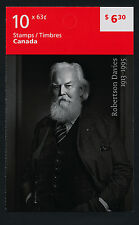 Canada 2660a booklet Mnh Robertson Davies, Writer