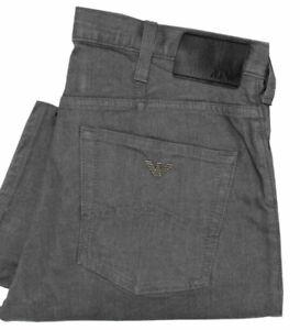 New EA7 Armani Jeans J21 8N6J21 6DLPZ Comfort Fabric Regular Fit Grey