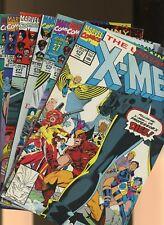 Uncanny X-Men 273,274,275,276,277,278,279 * 7 * Gatefold! Eagle Award! Jim Lee!