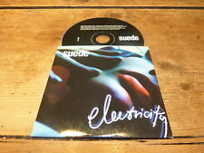 SUEDE - ELECTRICITY!!!!!!!! MEGA RARE PROMO CD !
