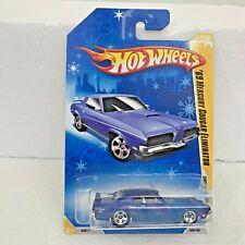 Hot Wheels '69 Mercury Cougar Eliminator '09 New Models Target Snowflake Card MC