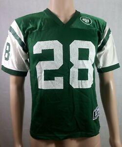 Vintage Starter New York Jets Curtis Martin #28 NFL Football Jersey Youth Medium