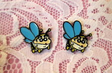 Anime Bee Earrings~Hypoallergenic Stud