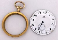 OMEGA vintage hand manual winding pocket watch bolsillo esfera body 45,5 mm 3WC